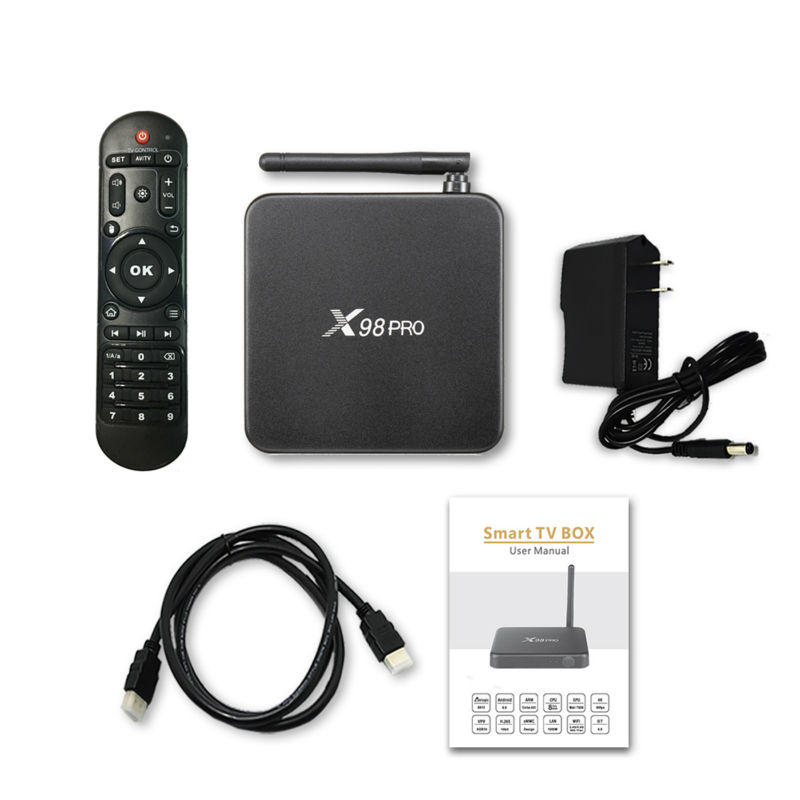 VONTAR X98 PRO Amlogic S912 Android TV Box 2 GB/3 GB 16 GB/32 GB Octa Core X98 pro boîtier métallique 4K décodeur intelligent - 6