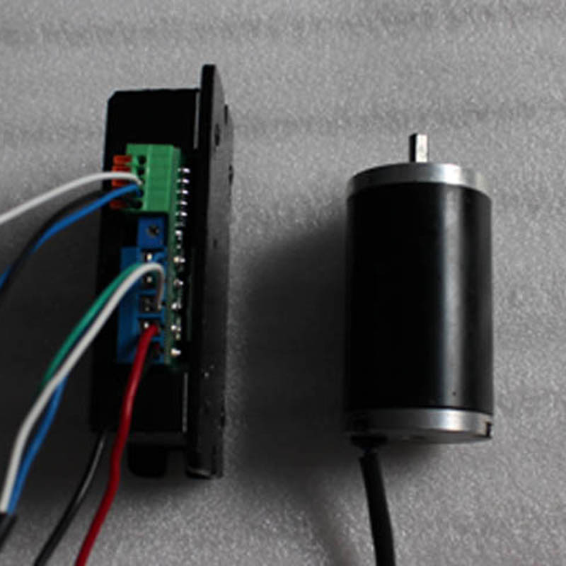 Brushless 24V micro dc motor with driver controller 36ZWN 18W 4000RPM For Robot Medical instruments