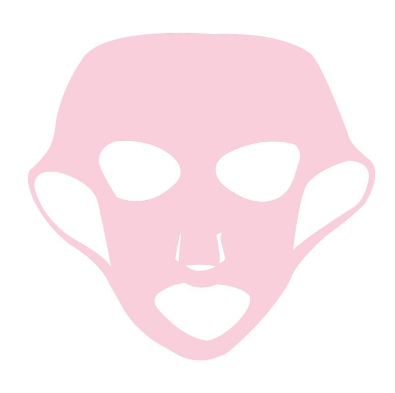 1 PC Reutilizável Silicone Máscara Facial para a Máscara de Folha De Rosto de Orelha Fixo Anti-off Máscara Prevent Essência de Evaporação cuidados Com a pele Máscara Facial