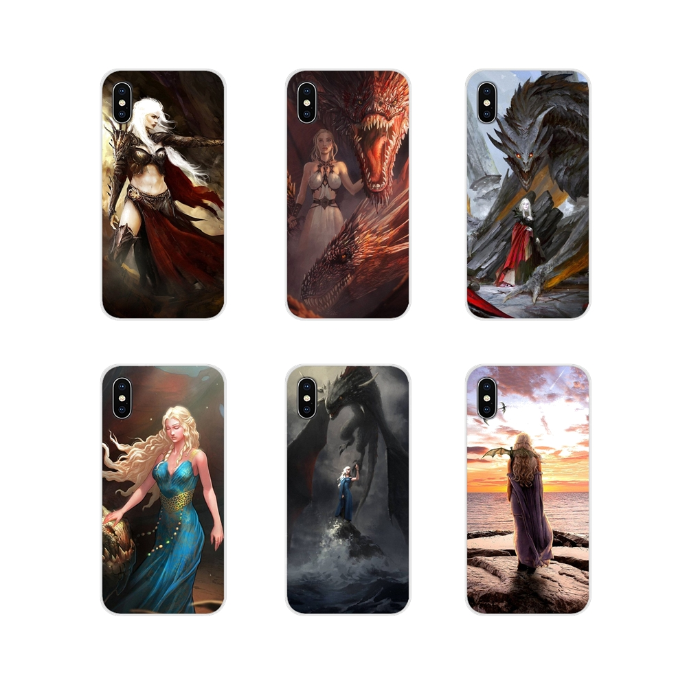 dragon mother Game of Thrones For Samsung Galaxy J1 J2 J3 J4 J5 J6 J7 J8 Plus 2018 Prime 2015 2016 2017 Accessories Cases Covers image