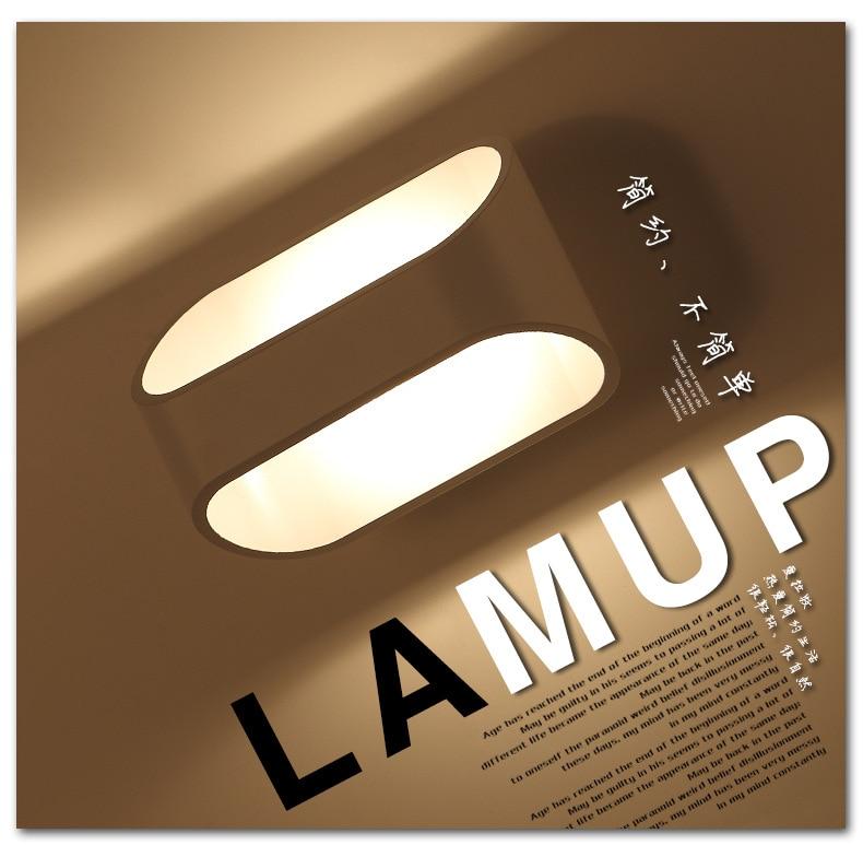 LED divar çıraqları 3W 5W 10W AC85-265V Müasir sadə yataq - Daxili işıqlandırma - Fotoqrafiya 3