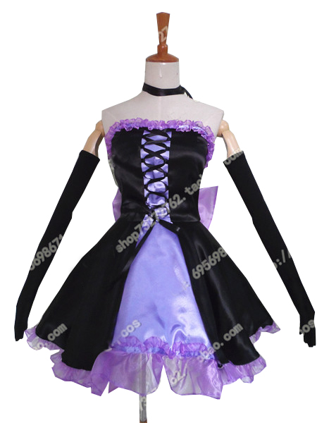 Hatsune Miku VOCALOID Niconico Party Ver. Gumi IA Cosplay Costume Halloween Uniform Outfit  Custom-made