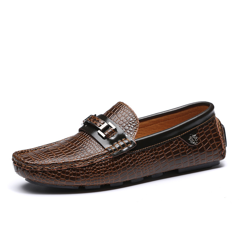 Tantu 남자 정품 가죽 신발 고품질 탄성 밴드 패션 디자인 솔리드 끈기 편안한-에서포멀 슈즈부터 신발 의  그룹 1