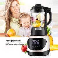 상업 자동 다기능 전기 주방 주스 콩 우유 가공 기계 홈 지능형 식품 프로세서 1 pc