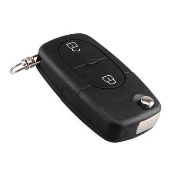 Chiave Telecomando per Audi A2 A3 A4 A6 A8 TT Quattro Old Models CR1620/CR1616 2/3/4 Button Flip Folding Remote Key Case Shell 1