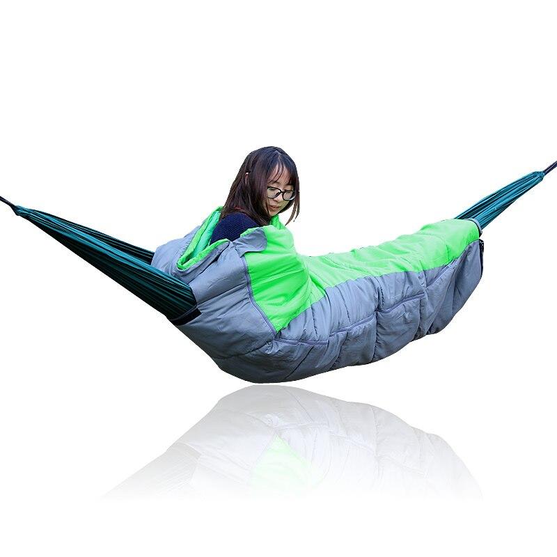 Mobilya'ten Hamaklar'de Su geçirmez Muslin uyku çantası Açık Mobilya title=