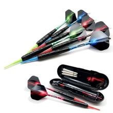 Professionelle Set Darts 19g Weiche Darts Elektronische Darts Weiche Spitze Darts und Aluminiumwellen Hohe Qualität Gute 3 teile / satz
