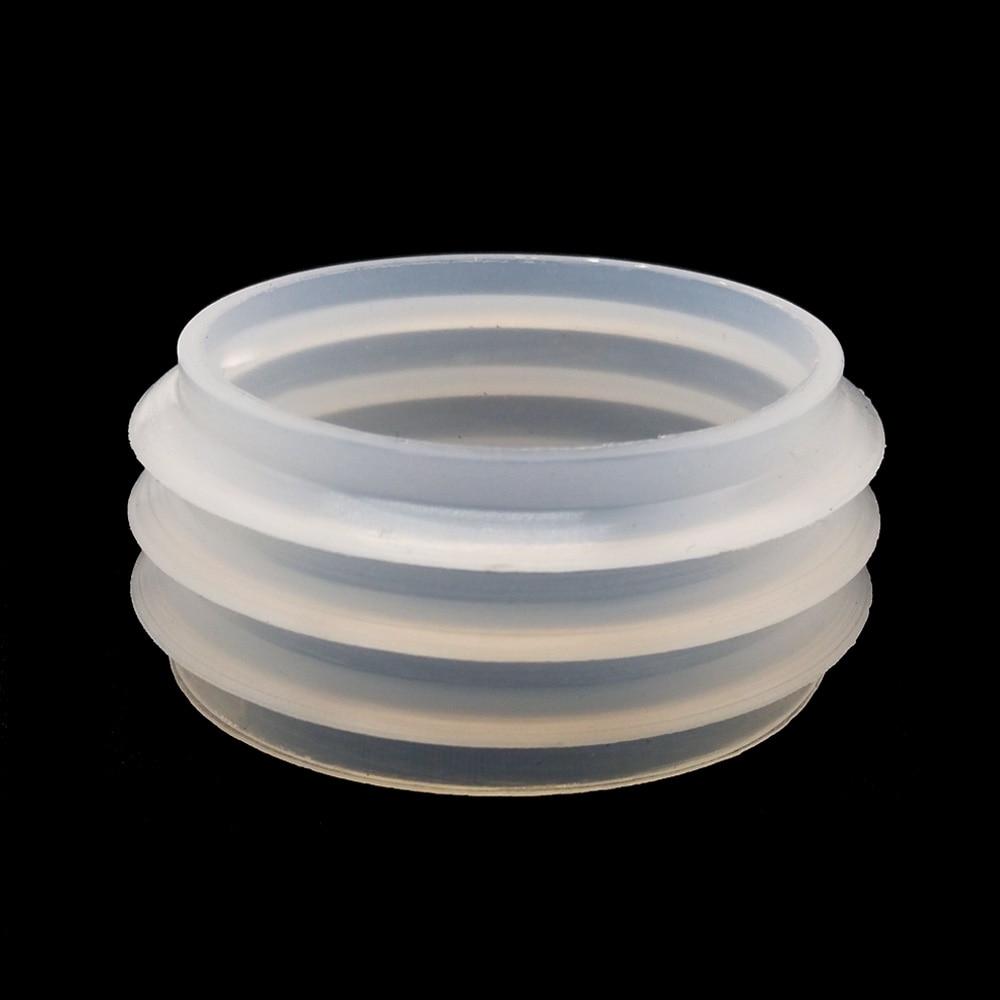 5pcs White Rubber Seal Grommet For MYA Hookah Shisha Water Pipe Sheesha Chicha Narguile Glass Base Bottle Accessories 43-35 Mm