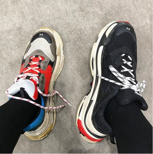 2018 Hot Fashion Women Sneakers Follwwith Brand Mixed Colors Lace Up Platforms Brogue Shoes Woman Top Quality High Top Casual