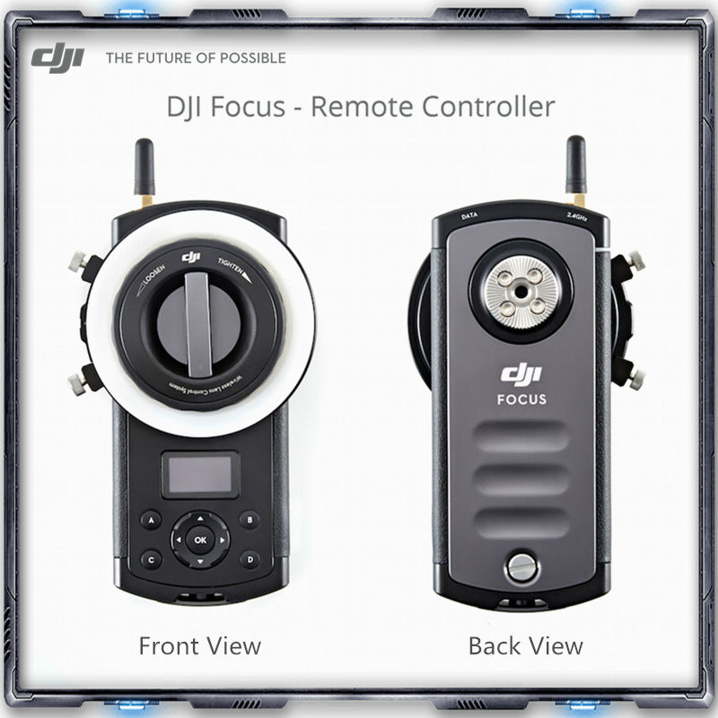 DJI Focus Remote Controller Fully compatible with the Zenmuse X5 series Communic