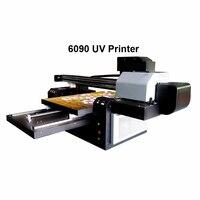 6090 УФ планшетный принтер для чехол для телефона, рисунок под дерево печати большого формата Многофункциональный цифровой струйный УФ-принт...