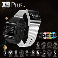 X9 plus large touch screen smart bracelet upgraded heart rate monitor blood pressure oxygen monitor smart