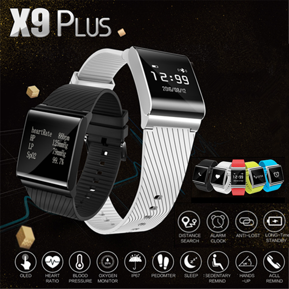 X9 plus velký dotykový displej smart náramek vylepšený monitor - Inteligentní elektronika