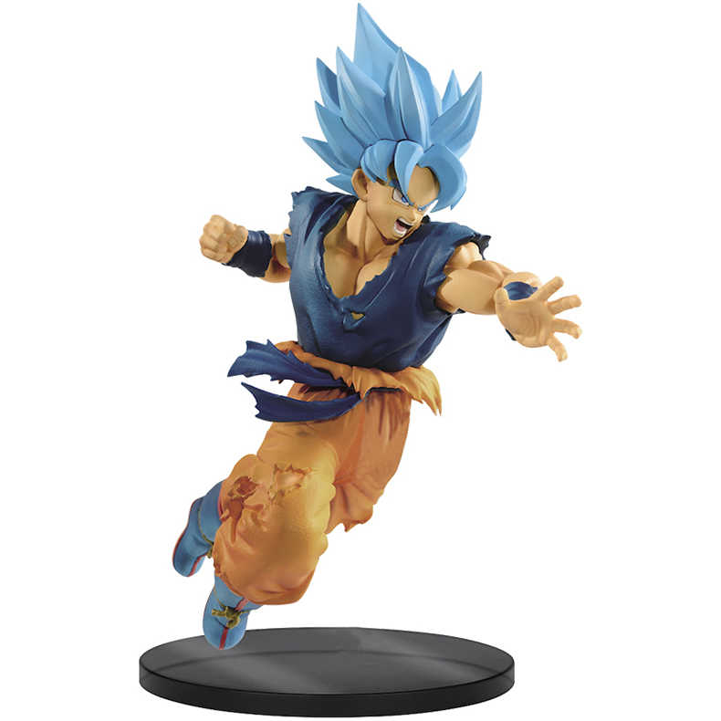 Anime Original Banpresto Dragon ball Super SOLDADOS FINAIS-O FILME Azul Goku Action Figure Toys Dolls Brinquedos Figurals