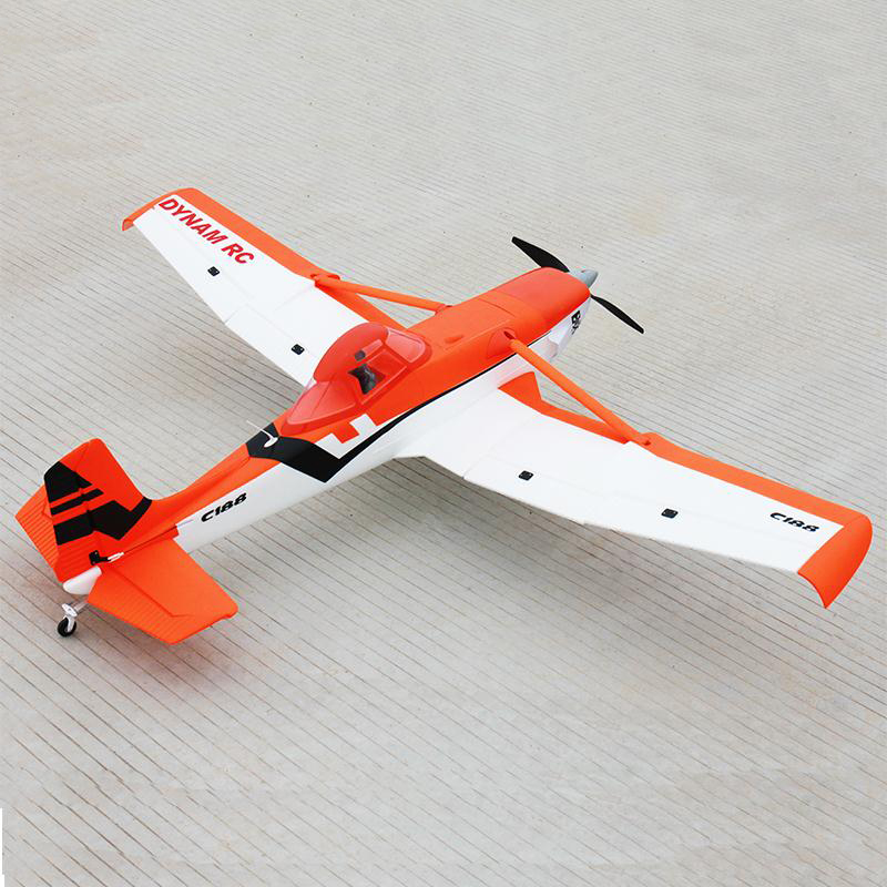 Dynam 1500MM Orange Cessna 188 RC RTF Propeller Plane W/ Motor ESC Servos Battery bz j shape fast assembling mount buckle w screw for gopro hero 2 3 3 orange