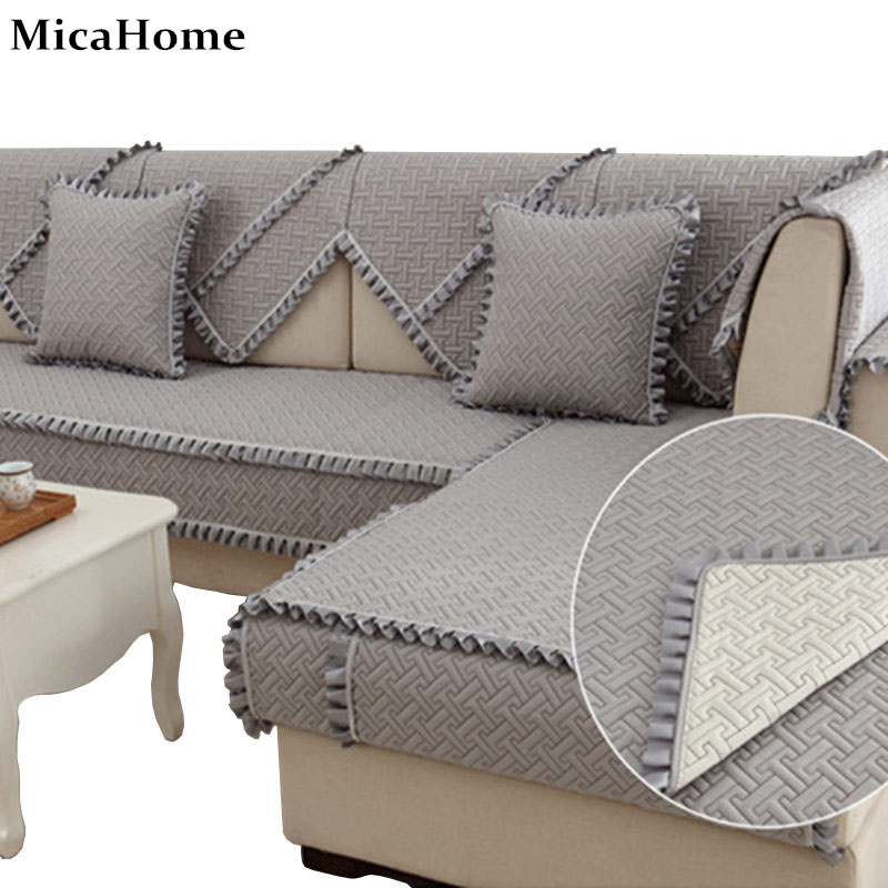 Exceptional Aliexpress.com : Buy Slip Resistant Sofa Cushion Covers Idyllic Wood Ear  Skirt Four Seasons Luxury Minimalist Modern Fashion Slipcover Textile Decor  From ...