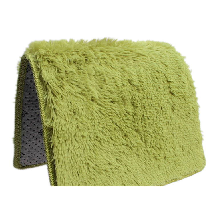 Home Rugs Living Bedroom Plush Rugs Grass Green 40*60cm-in