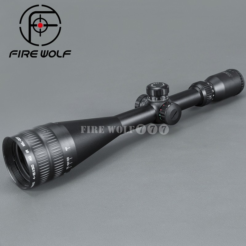 Sport 4-16x50 AOE Riflescope R&G Illuminated Riflescope Reticle Rifle Sniper Scope For Hunting Ak 47 Red Dot Sight hawke sport 3 12x50 aoe riflescope r