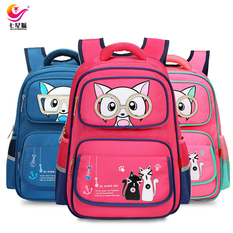 2018 New Kids School Bags Children Backpacks Girls and Boys Backpack Schoolbag Mochila Bookbag Big and Small Size Kids Baby Bags
