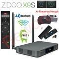 Zidoo X9S Android 6.0 Smart TV Box 2GB 16GB Realtek RTD1295 Quad-Core 2.4G/5.0G Wifi Bluetooth 4.0 HDMI IPTV Europe Media Player
