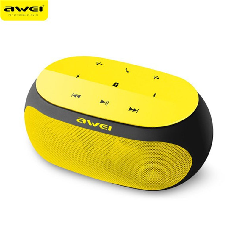 Awei Y200 Bluetooth Speaker Portable Wireless V3.0 Handsfree Speaker AUX Support TF Card For iPhone For Samsung Loudspeakers
