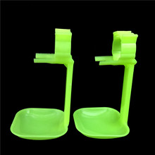 20 sets Chicken Feeding Device Hanging drinking cup Chicken tools wholesale Quail cage Free shipping