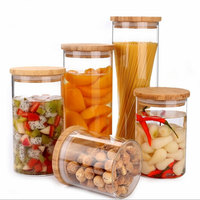 Home Storage Box Kitchen Tools Refrigerator Freshness Preservation Food Sealed Jar Kitchenware Glass Jar
