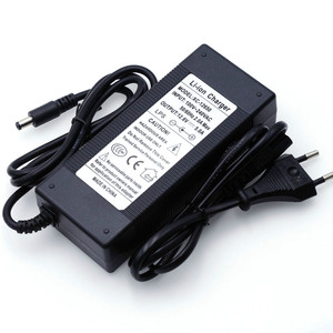 Image 3 - VariCore 12V 24V 36V 48V 3Series 6 Series 7 Series 10 Series 13 Strings 18650 Lithium Battery Charger 12.6V 29.4V DC 5.5 * 2.1mm