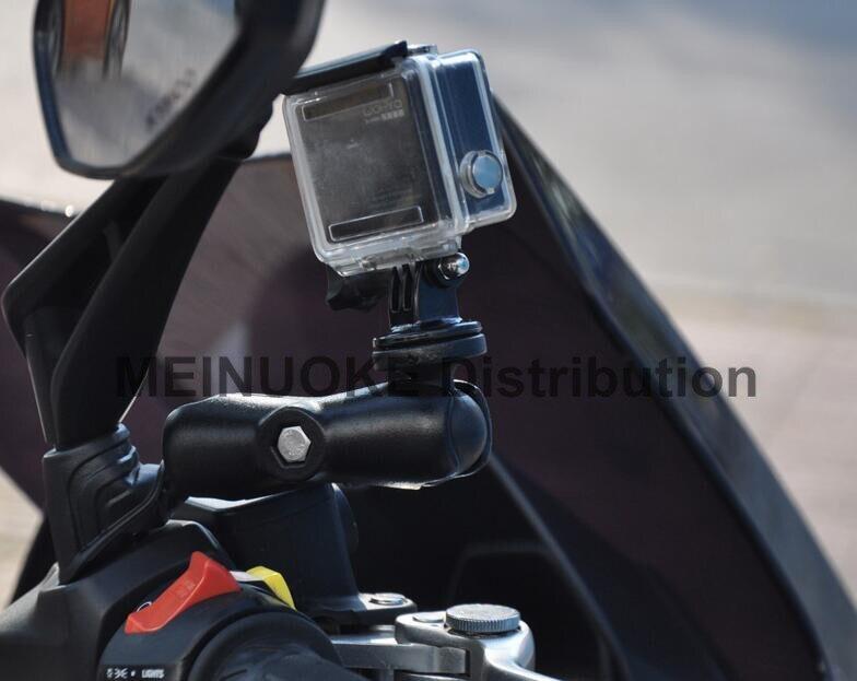 Moto Bicicleta Moto Scooter Espejo Montura Para Cámara