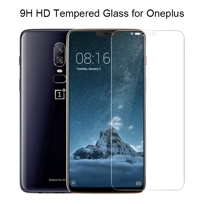 <font><b>Smartphone</b></font> Tempered Glass for <font><b>Oneplus</b></font> 7 Toughed Screen Protector for <font><b>Oneplus</b></font> <font><b>6T</b></font> 6 Protective Glass for <font><b>Oneplus</b></font> 5T 5 3T 3 2 9H HD image