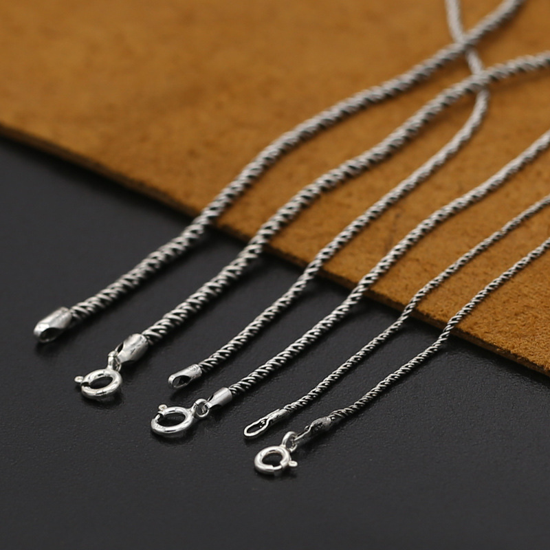 GENUINE Sterling Silver ROPE Chain 2mm 2.5mm SOLID 925 Necklace NEW