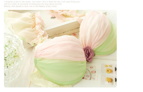 Dream Angels 14 New Women Push Up Bra Sets Breast Flower Lace Bra Women Underwear Sexy Lingerie Brand Bra & Brief Sets 7