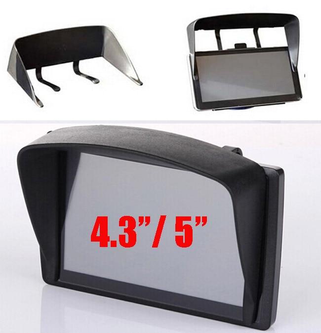 US $2 52 13% OFF|Universal 5inch / 4 3inch Car GPS Sun Shade Visor Anti  Glare 4 3