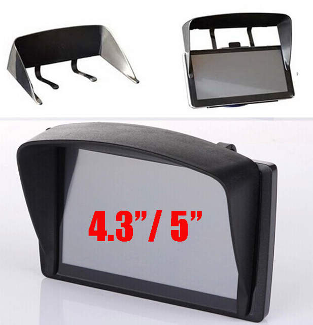 Online Shop Universal 5inch   4.3inch Car GPS Sun Shade Visor Anti Glare  4.3