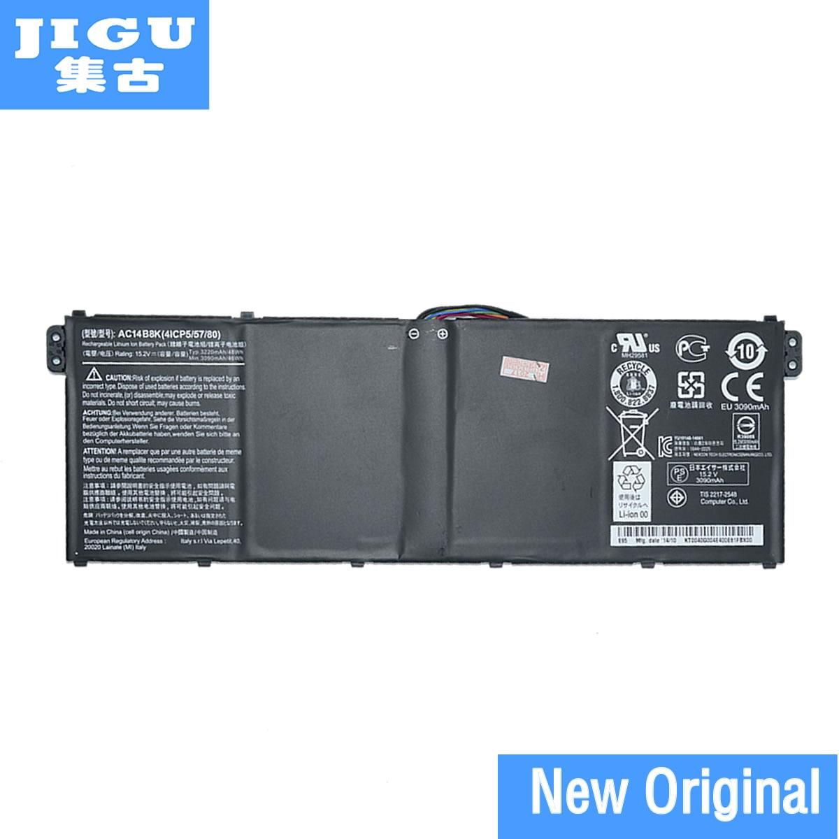 JIGU New Original 15.2V 48Wh Laptop Battery For Acer For Aspire V3 V3-371 V3-371-30FA AC14B8K