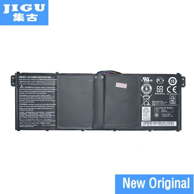 JIGU nowy oryginalny 15.2V 48Wh baterii laptopa dla Acer Aspire V3 V3 371 V3 371 30FA AC14B8K