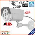 CCTV Câmera À Prova D' Água Ao Ar Livre 1/4 ''Sensor CMOS 1.0MP 720 P Bala AHD Câmera de CCTV de Vigilância de Segurança IR Cut Filter 3.6mm len