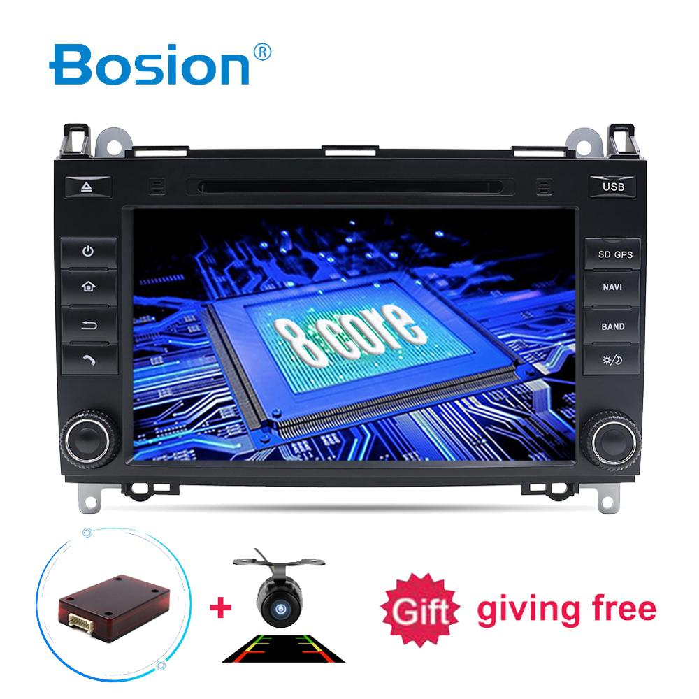 2DIN android 9 0 Car DVD player For Mercedes Benz Sprinter B200 W209 W169 W169 B
