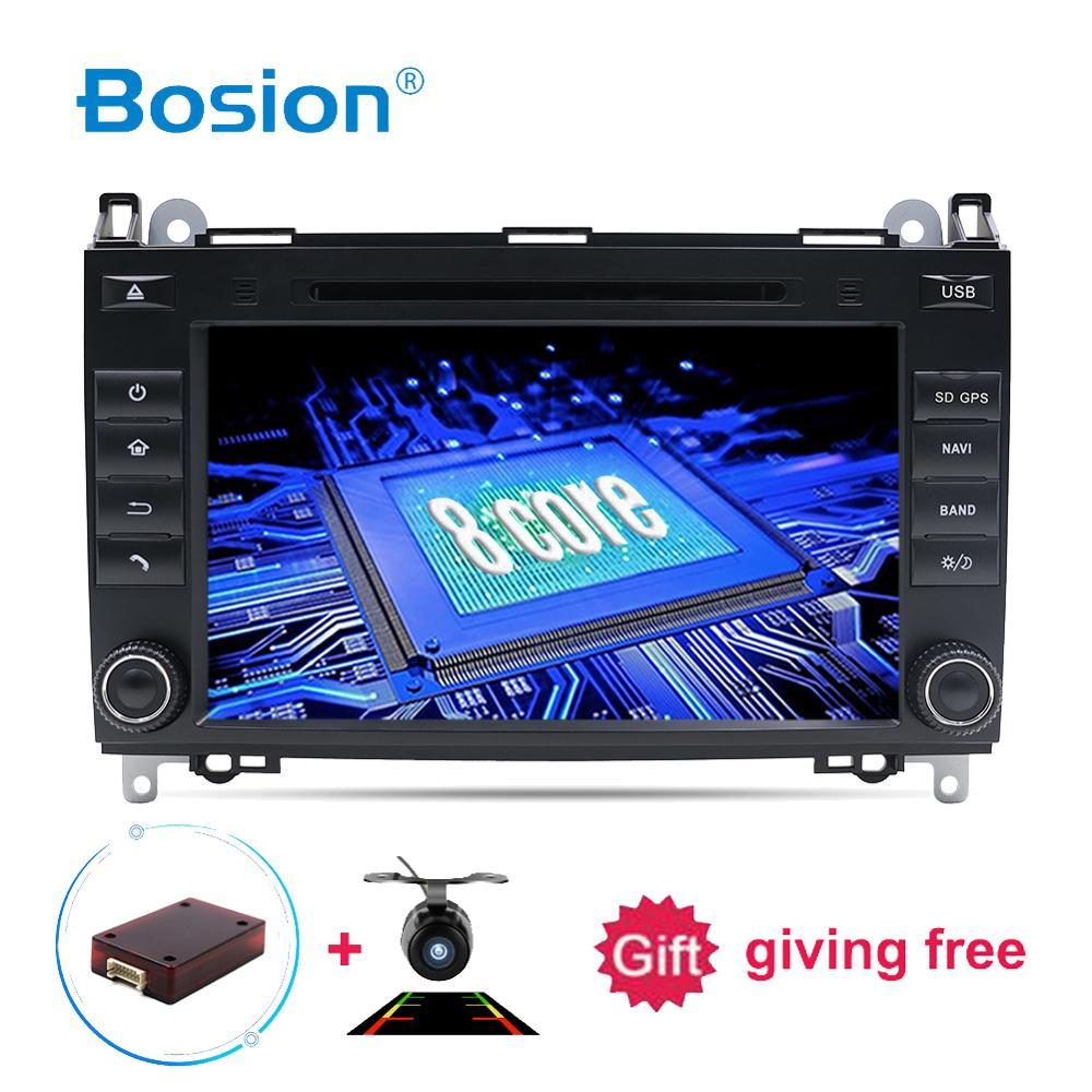 Lecteur DVD de voiture 2DIN android 8.1 pour Mercedes Benz Sprinter B200 W209 W169 W169 classe B W245 B170 Vito W639 stéréo multimédia GPS