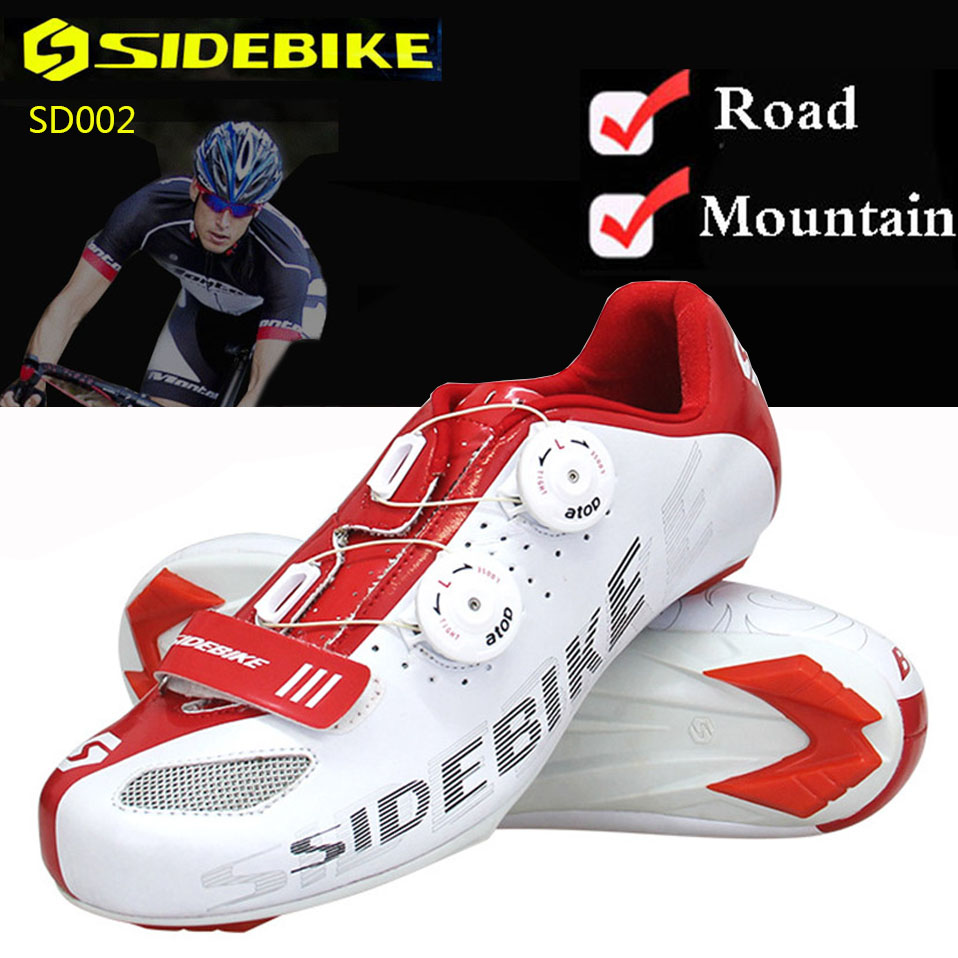 Cycling Shoes Men Women Bike Shoes Mountain Road Superfine Fiber Ultralight MTB Breathable Auto-lock SPD Non-slip Bicycle Shoes стоимость