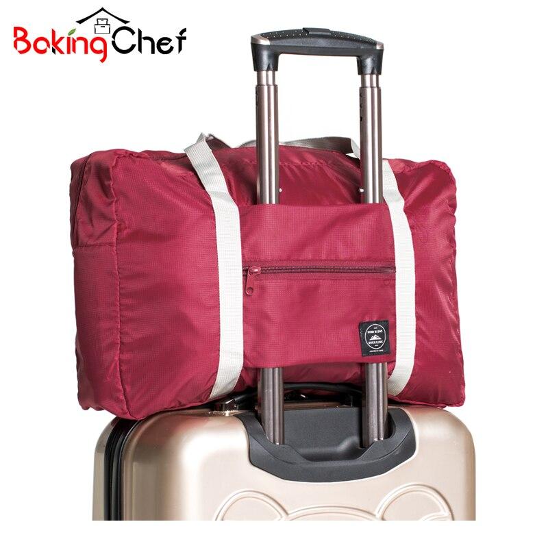BAKINGCHEF Casual bolsas de viaje ropa equipaje almacenamiento organizador colación bolsa Fundas accesorios suministros artículos de engranaje cosas funda