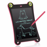 Newyes Paperless Ewriter Digital Writing Tablet 8.5 Inch LCD Writing Drawing Pad Portable Electronic Tablet (Pink)