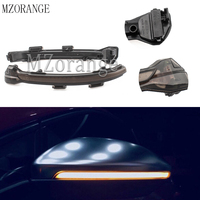 For Volkswagen Rline Sportsvan Touran Golf MK7 7.5 7 For GTI R GTD Dynamic Blinker LED Turn Signal Mirror Light Water Flowing