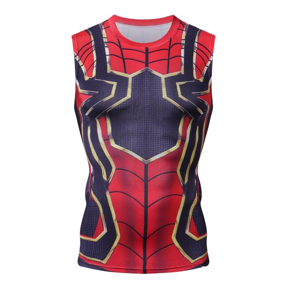 Iron Man Batman 3D Printed Marvel Superhero   Tops   Superman Bodybuliding Fitness Vest Men   Tank     Top   Outfits