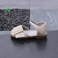 2018 Summer New Pattern Children Sandals Girl Leather Princess Shoe Baby Soft Bottom Kids Shoes Tide