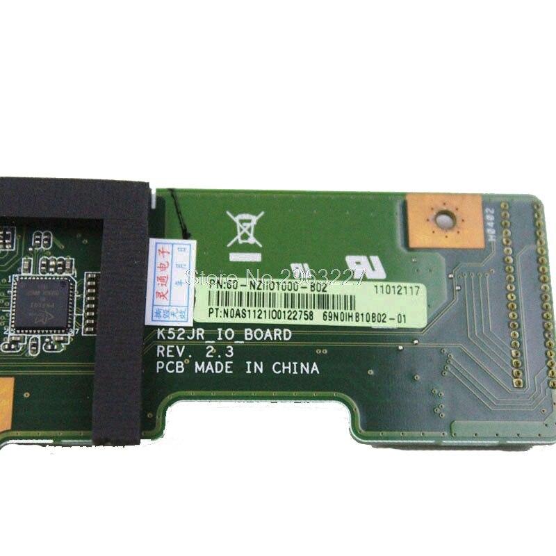 For ASUS K52 X52J A52J K52J K52JR K52JT K52JB K52JU K52JE K52D X52D A52D K52DY K52DE K52DR Audio USB IO Board DC Power Board