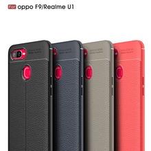 Carbon Fiber Case For OPPO Realme U1 Silicone Soft Shockproof Phone Cover For OPPO U1 A7 A5 A83 A71 A79 Case Coque Fundas Etui