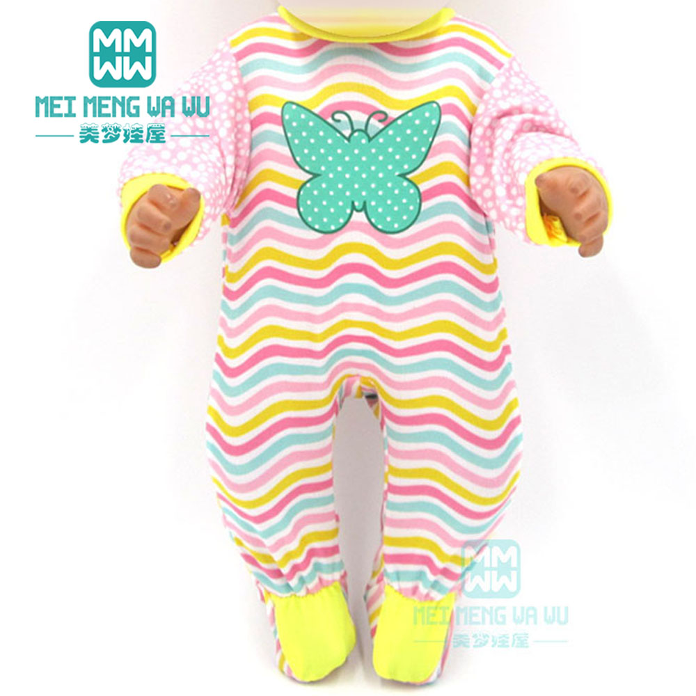 Image 5 - Dolls clothes for 43cm new born doll and American doll Tiger Jackets and Pants Suit baby Suit-in Dolls Accessories from Toys & Hobbies