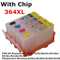 Для 364 XL многоразового картридж для HP Photosmart 7520 B010a B110a B110c B110e B111a B109a B109d B109f B109n принтер