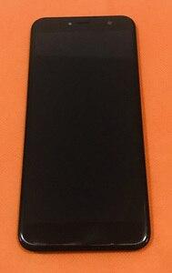 Image 1 - Verwendet Original LCD Display + Digitizer Touchscreen + Rahmen für Cubot X18 MT6737T Quad Core Kostenloser Versand